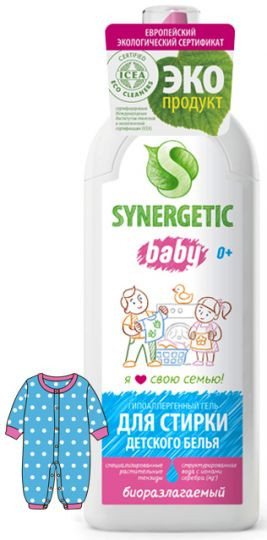 Synergetic Средство для стирки детского белья 1 л