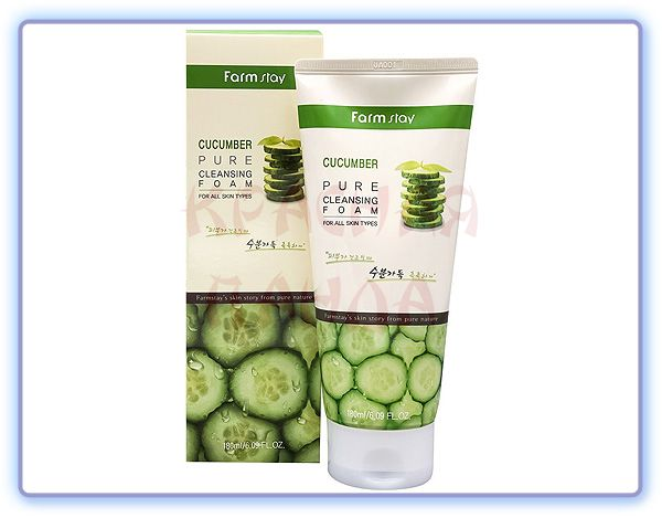 Farmstay Cucumber Pure Cleansing Foam