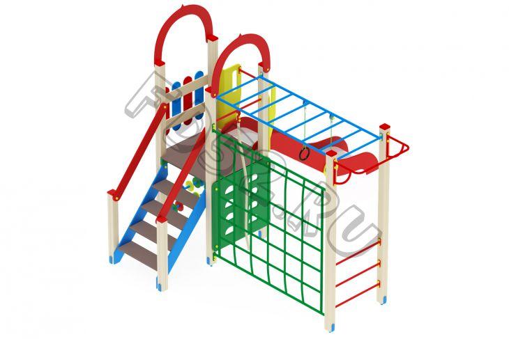 Детский игровой комплекс «Играйте с нами» H=1200 4380х3540х3000