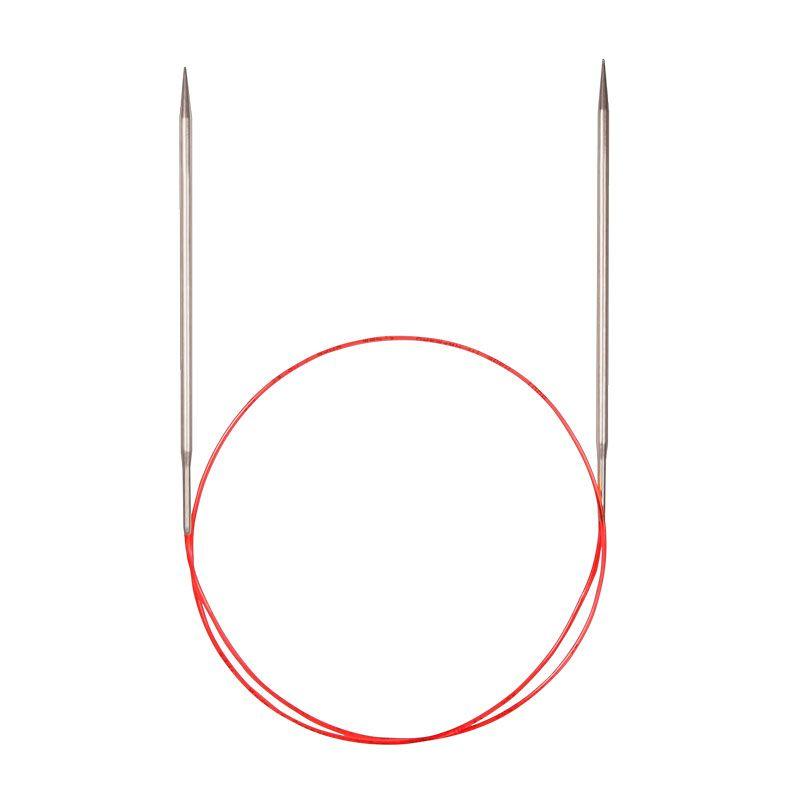 Спицы ADDI с удлиненным кончиком круговые  (775-7)