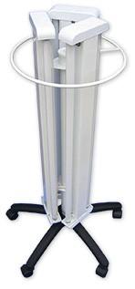 Облучатель медицинский бактерицидный ОБПе-450(передвижной, шестиламповый), в комплекте лампа+стартер