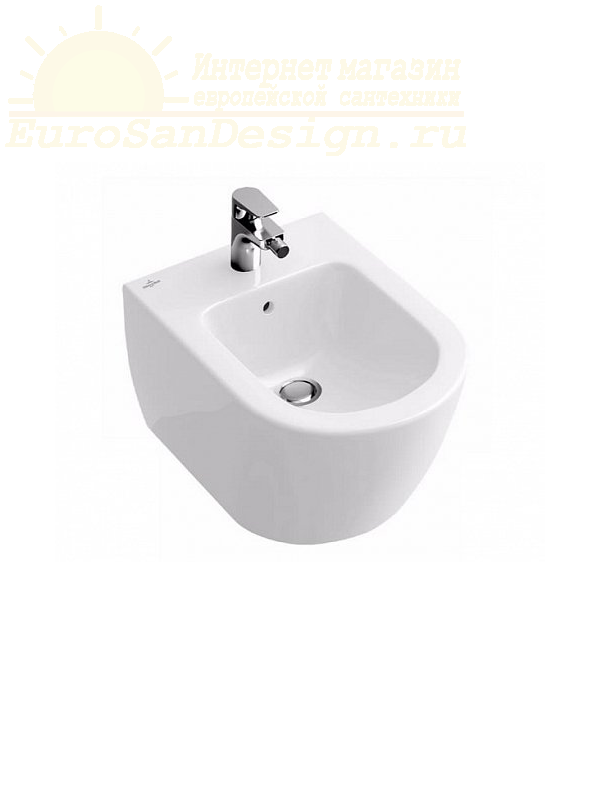 Биде Villeroy&Boch Verity Design керамическое 5403 00 R1 ФОТО