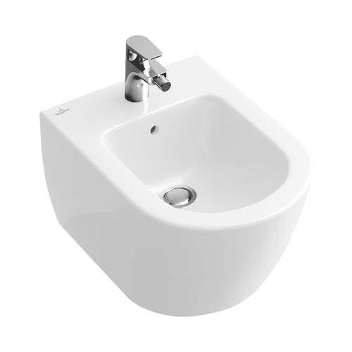 Биде Villeroy&Boch Verity Design керамическое 5403 00 01 ФОТО
