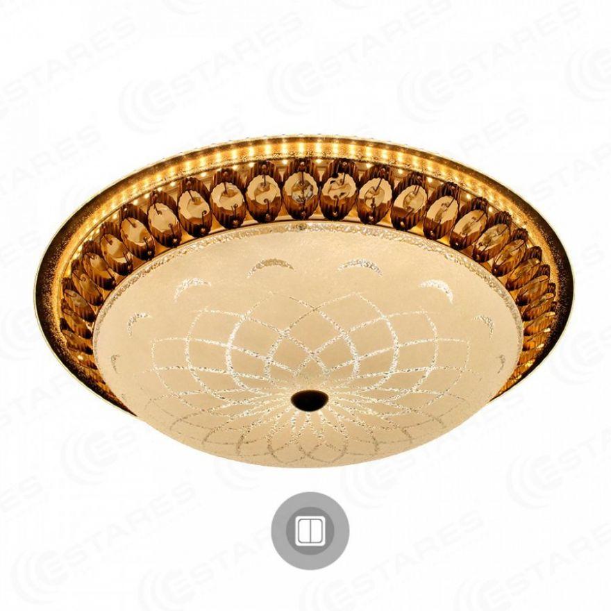 Светильник светодиодный Estares MAROCCO GOLD 72W R-510-WHITE-220-IP20