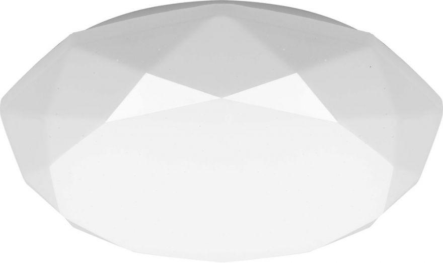 Светильник светодиодный накладной Feron AL589 тарелка 18W 4000K белый