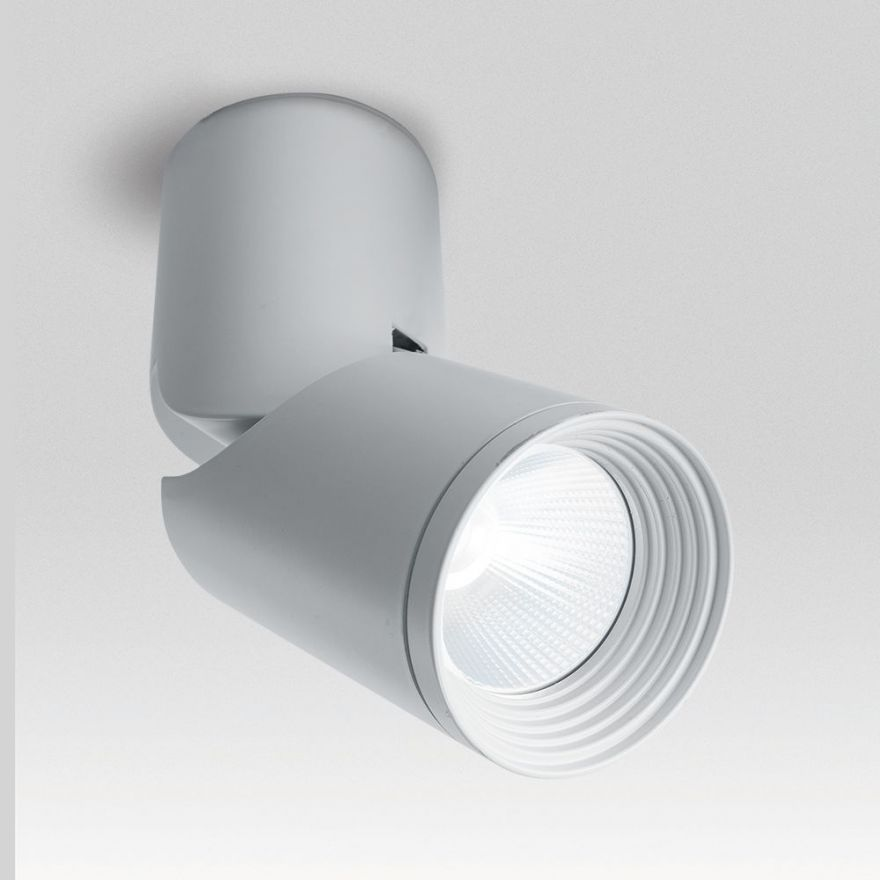 Светильник светодиодный Feron AL517 накладной 10W 4000K белый наклонный