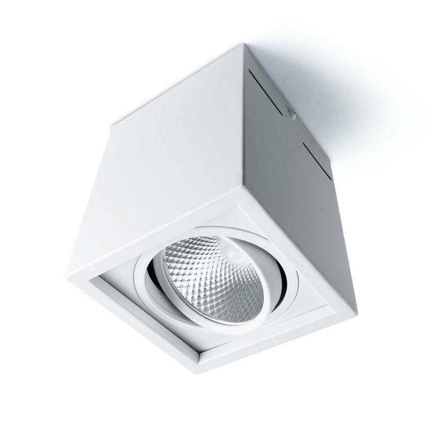 Светильник светодиодный Feron AL522 накладной 7W 4000K белый поворотный