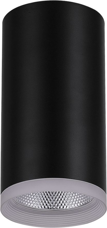 Светильник светодиодный Feron AL532 накладной 15W 4000K черный 80*100