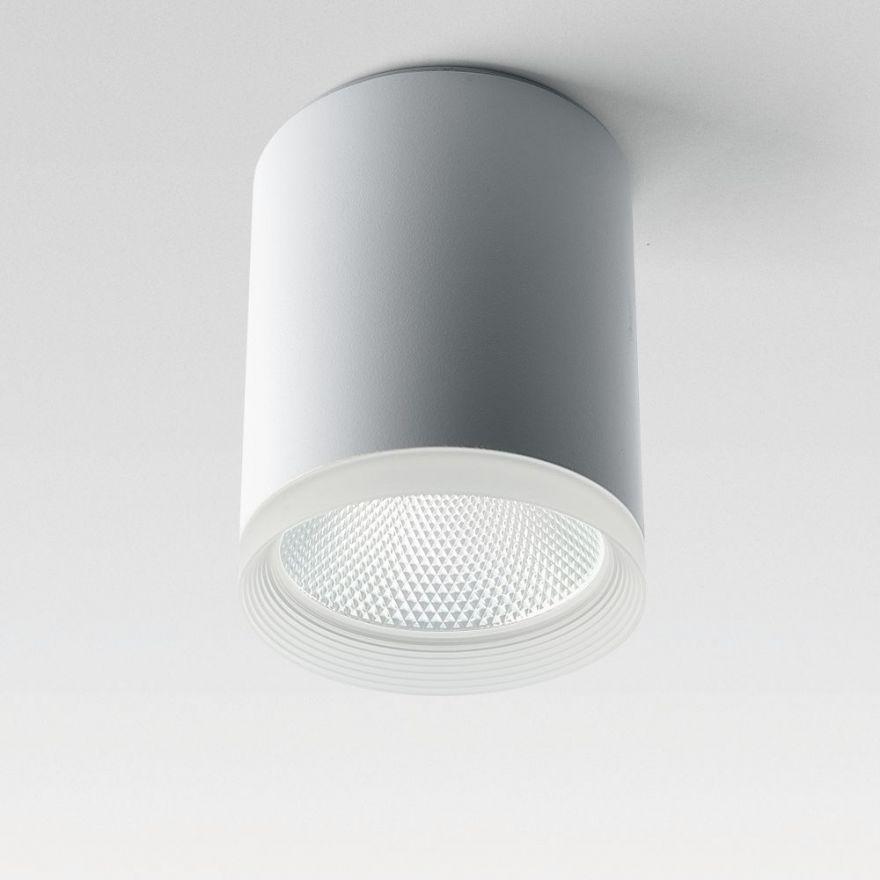 Светильник светодиодный Feron AL533 накладной 25W 4000K белый 100*100