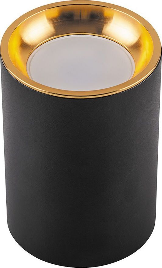 Светильник потолочный Feron ML175 MR16 35W 220V, черный, золото