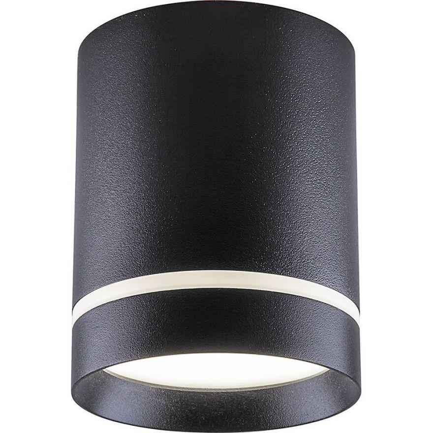 Светильник светодиодный Feron AL535 накладной 25W 4000K черный 100*100