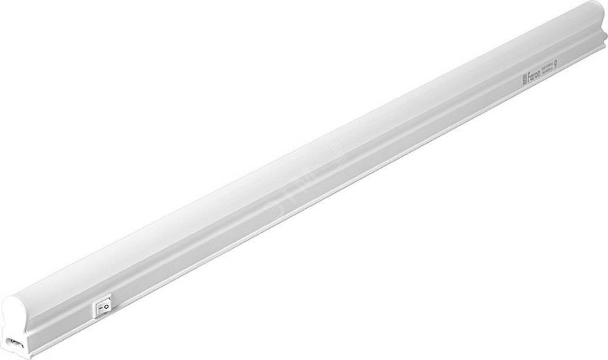 Cветодиодный светильник 74LED 4000K 16W в пластиковом корпусе с выключателем и сетевым шнуром, AL5038