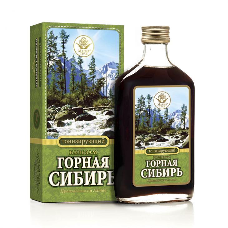 Бальзам тонизирующий «Горная Сибирь»