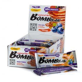 Протеиновый батончик Bombbar чернично-смородиновый панкейк 60 гр