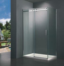 Душевой уголок без поддона BandHours Rimini-Glass 100х80
