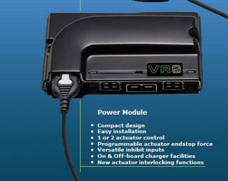 Блок силовой электронный VR2 до 60 Амп