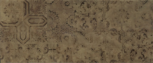 Patchwork brown wall 03