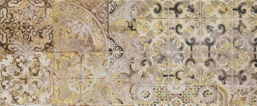 Patchwork beige decor 02