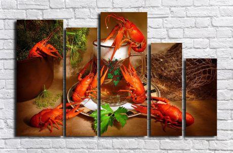 Модульная картина Для кухни 79