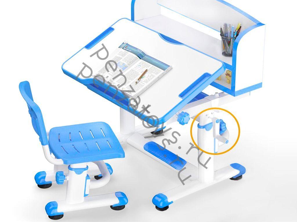 Растущие парта+стул Mealux EVO BD-10 с надстройкой