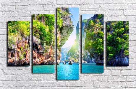 Модульная картина Пейзажи и природа 2