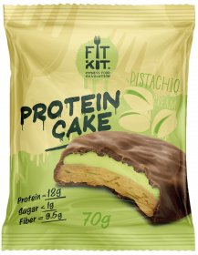 Fit Kit Protein Cake 70 гр Фисташковый крем