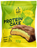 Fit Kit Protein Cake 70 гр Лайм-лимон