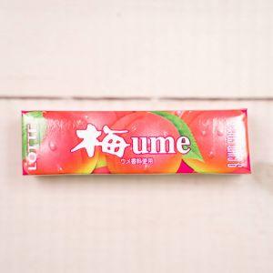 Жевательная резинка LOTTE UME (японская слива) 31г