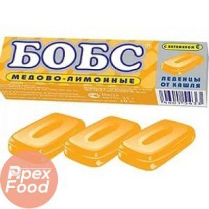 Леденцы БОБС микс мед/лимон,лесные ягоды 35 гр