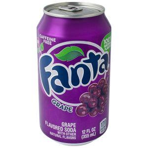 Напиток Fanta Grape ж/б 355 мл