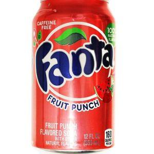 Напиток Fanta Fruit Punch 355 мл