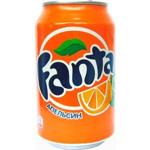 Напиток б/алк FANTA ORANGE (Апельсин) 0,355л с/б