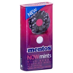 Драже Mentos NOW Mints (wild berry) ж/б 31 гр