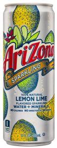 Напиток Arizona sparkling lemon lime 355 мл ж/б