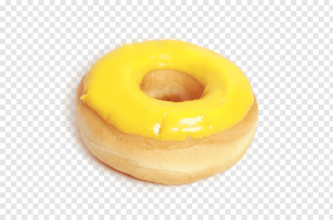 Донат с банановой глазурью ШБ 58г (2 шт)