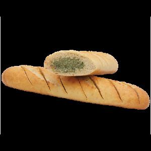 Багет французский с чесночным маслом 140 гр