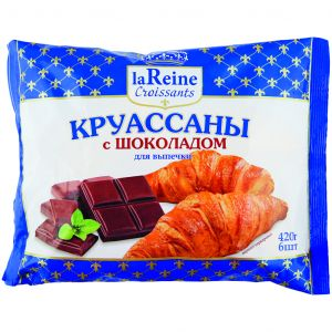 Круассаны с шоколадом La Reine