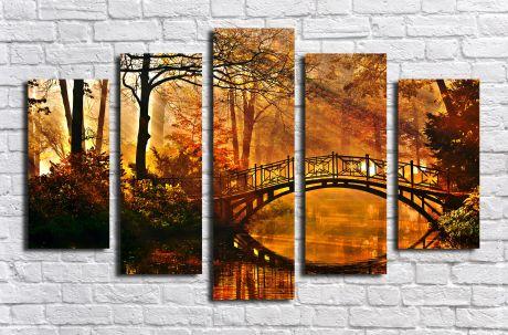 Модульная картина Пейзажи и природа 9