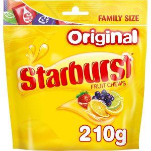 Жевательные конфеты Starburst Fruit Chews Original 210г