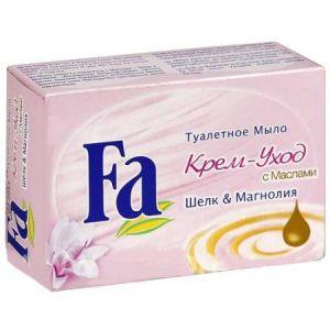 Мыло туалетное Fa Крем-уход с маслами Шелка и Магнолии 90 гр