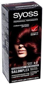Краска д/волос SYOSS COLOR 4-2 Красное дерево 50 мл