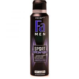 Дезодорант-спрей FA MEN Спорт Перезарядка 150мл