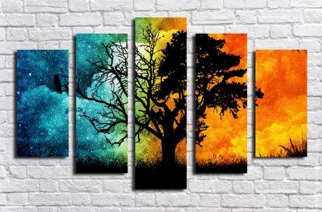 Модульная картина Пейзажи и природа 18