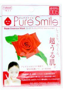 Восстан. маска для лица с эссенцией розы 23мл Pure Smile Essence mask