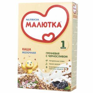 Каша Малютка Гречневая с черносливом молоч. 220гр