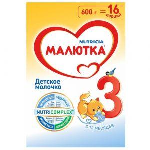 Малютка-3 с 12 мес. 600гр