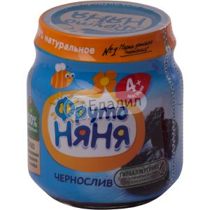 Пюре Фрутоняня чернослив натур. ст/б 0,100 кг