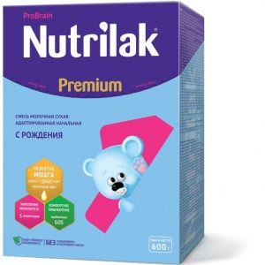 Нутрилак Премиум 1+ Сухая молочная смесь (0-6 мес) 600гр