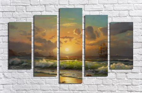 Модульная картина Пейзажи и природа 25