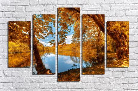 Модульная картина Пейзажи и природа 27